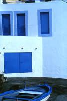 isola di Salina  Rinella tipica casa colorata   - Eolie (5376 clic)