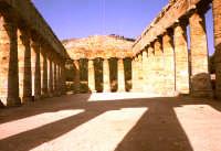 tempio, tempio interno   - Segesta (2276 clic)