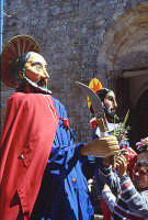 Domenica Palme i santoni   - Aidone (3996 clic)