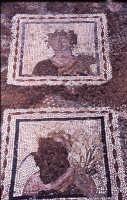 Valle dei templi Quartiere ellenistico mosaico   - Valle dei templi (3933 clic)