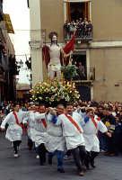 Pasqua L'incontro Cristo, Maria    - Adrano (7917 clic)