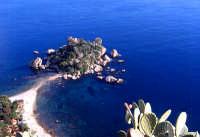 Isola Bella, panorama dalla città   - Taormina (6419 clic)