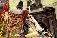 Pasqua L'incontro Cristo, Maria    - Adrano (5880 clic)