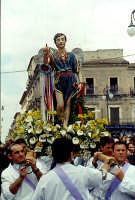 Pasqua L'incontro Cristo, Maria S.Michele   - Adrano (7518 clic)