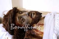 Pasqua:Feste e tradizioni popolari (venerdi santo) Il Cristo morto.  - Mazzarino (4761 clic)