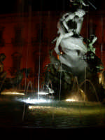 Fontana di Diana in Piazza Archimede. (centro storico di Ortigia)  - Siracusa (2680 clic)