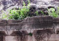 particolare dell'ingresso del cimitero degli ebrei in Via Aracoeli. Pressi di Piazza San Giuseppe in Ortigia.  - Siracusa (2659 clic)