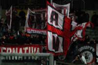 Palermo-Milan coppa Italia : 0-1 nella foto ultrà milanisti PALERMO alfonso salvaggio