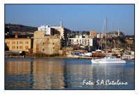Torre Carlo V° - a sinistra Scuola Elementare Luigi Pirandello -  - Porto empedocle (8784 clic)