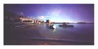 Molo con torre Carlo V° - foto stenopeica  - Porto empedocle (4297 clic)