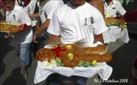Forme di pane in onore di San Calogero durante i festeggiamenti  - Agrigento (3444 clic)