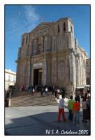 Santuario SS. Crocefisso con archi di luci in occasione delle festività del 3 di maggio.  - Siculiana (5434 clic)