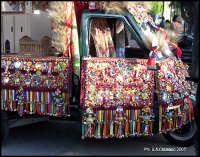 Addobbo motociclo - Ape- in occasione Festività San Calogero  - Agrigento (3519 clic)