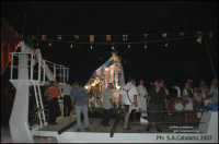 Madonna del Carmelo su un peschereccio per tradizionale Giro del Porto  - Porto empedocle (10132 clic)