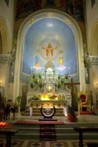 Chiesa Madre - Altare centrale  - Letoianni (4183 clic)