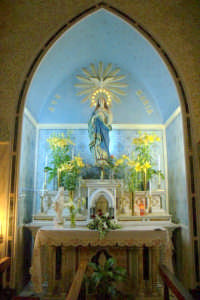 Chiesa Madre - Altare navata sinistra  - Letoianni (4307 clic)