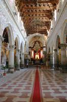 Navata centrale Duomo  - Enna (4427 clic)
