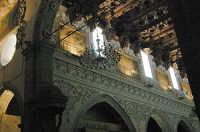 Navata centrale Duomo (particolare)  - Enna (3622 clic)