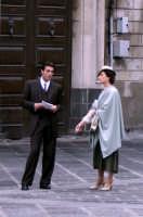 Daniele Liotti e Nicole Grimaudo in una pausa del Bell'Antonio  - Catania (6601 clic)
