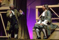 Foto di scena de La Scuola delle mogli con Rosario Marco Amato ed Enrico Guarneri  - Furci siculo (2191 clic)