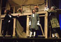 Foto di scena de La Scuola delle mogli con Rosario Marco Amato ed Enrico Guarneri  - Furci siculo (1771 clic)