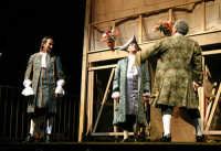 Foto di scena de La Scuola delle mogli con Rosario Marco Amato ed Enrico Guarneri  - Furci siculo (2243 clic)