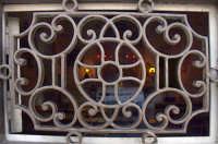 Particolare del portone Santuario Madonna degli Ammalati  - Misterbianco (3265 clic)