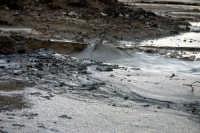Vulcanelli di fango in eruzione (salinelle)   - Paternò (2596 clic)