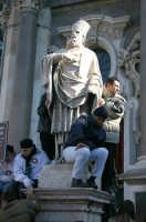 Festa di S.Agata - In attesa alla Cattedrale  - Catania (2104 clic)