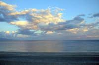 tramonto autunnale in riva al mare  - Roccalumera (10345 clic)