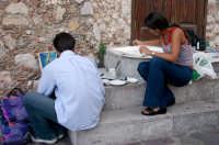 Giovani artisti  - Castelmola (3867 clic)