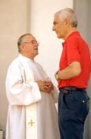 Padre Murolo e l'Avv. Gianni Miasi sindaco di Roccalumera  - Roccalumera (6925 clic)