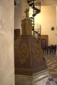 Chiesa di S. Lucia - Fonte battesimale  - Savoca (4150 clic)