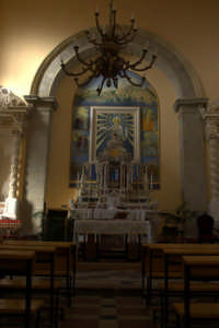 Chiesa di S. Lucia - Altare centrale  - Savoca (4157 clic)
