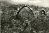 Cartolina Anni '50 Ponte dei saraceni  - Adrano (8352 clic)