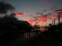 Tramonto - Viale delle Americhe  - Ragusa (2739 clic)