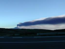 Etna - Eruzione del 2002  - Vizzini (4291 clic)