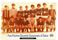 Una formazione del Pachino giovanile di calcio 81 allenata da Giombattista Lombardo  - Pachino (10786 clic)