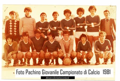 - PACHINO - inserita il
