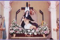 Le statue dei Misteri del venerdì santo, la Pietà  - Biancavilla (6441 clic)