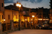VEDUTA NOTTURNA VIA ROMA   - Santa caterina villarmosa (7684 clic)