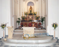 SANTUARIO MARIA SS.DELLE GRAZIE RESTAURO  GENN.2007  - Santa caterina villarmosa (4581 clic)