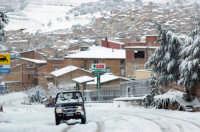 panorama con neve 26.1.2005  - Santa caterina villarmosa (8235 clic)