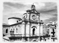 CHIESA MADRE ( VEDUTA DALL'ALTO )  - Santa caterina villarmosa (5613 clic)