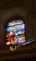 PITTURA SUL VETRO INTERNO CHIESA MADRE  - Santa caterina villarmosa (2557 clic)