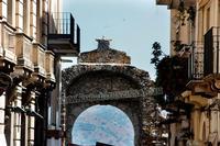 INGRESSO VISTA ESTERNA CITTA' DI TAormina (468 clic)