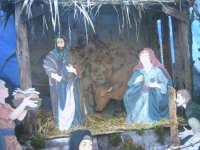 Presepre sul sacrato della chiesa S. Rosalia  - Montelepre (8664 clic)