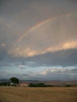 Contrada Fvaraggi: Paesaggio con arcobaleno  - Comiso (2935 clic)