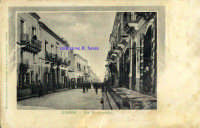 Cartolina d'epoca - Via Callipoli  - Giarre (6148 clic)
