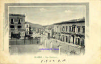 Cartolina d'epoca - Via Callipoli  - Giarre (5740 clic)